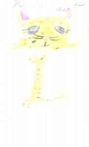 Рисунок победителя рико Теплова Галя 8 лет