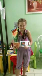 Победитель конкурса детских рисунков Рико