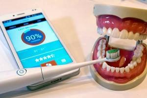 зубная щетка коллибри с выходом в интернет