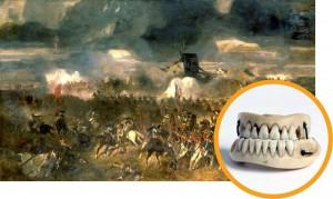 Сражение при Ватерлоо - поле боя