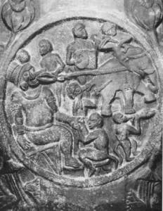 Удаление зубов - барельеф. 2000 лет до н.э.