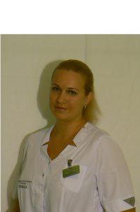 Лисина Наталья Николаевна медицинская сестра